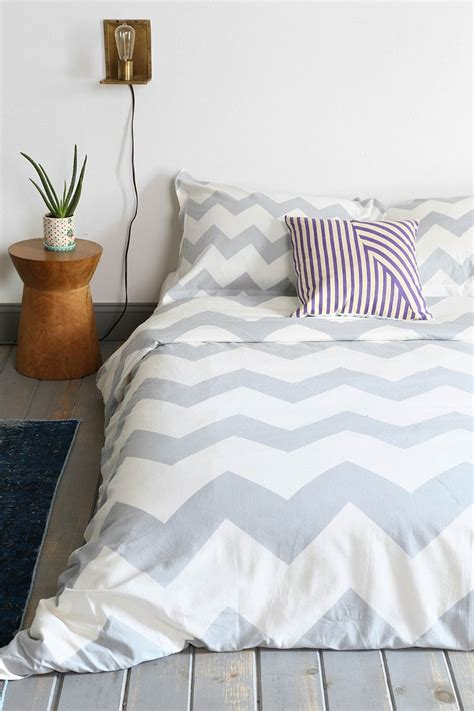zigzag duvet cover outfitters