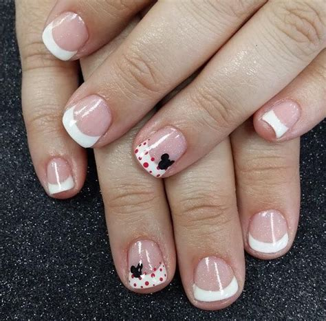 french  disney mickey mouse accent nails  jen