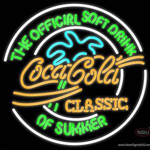 Coca Cola Classic Neon Sign – NeonSigns USA INC