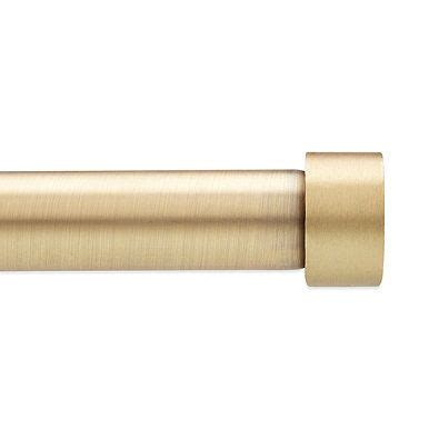 umbra 174 cappa 66 to 120 inch adjustable window curtain rod