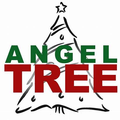 Angel Tree Clipart Clip Template Flyer Cliparts