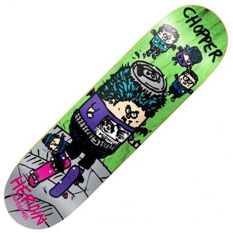 875 Skateboard Deck Uk by Heroin Skateboards Heroin Chopper Skgbrds Skateboard Deck