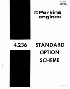 Perkins Engine 4 236 Parts Manual For Pb