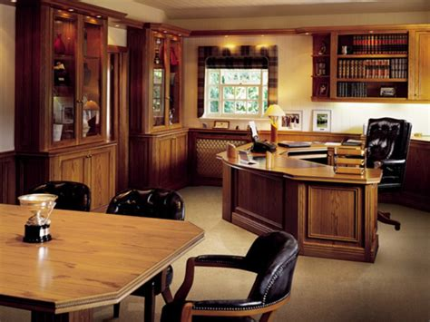 Nice Office Furniture, Executive Home Office Interior