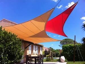 voile pare soleil terrasse bache tendue pour terrasse With voile pare soleil terrasse