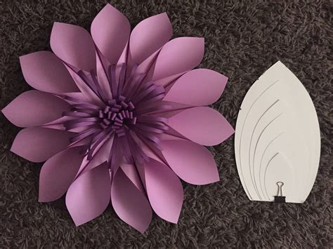 Paper Flower Template Diy Paper Flower Template 2 Paper Flower Backdrop