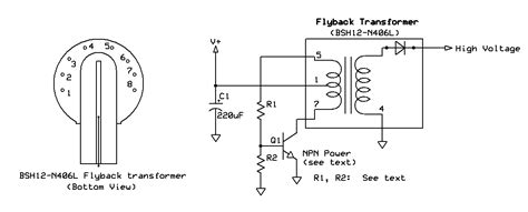 Kaoei Blog Fun With Self Oscillating Flyback