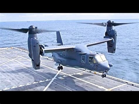 v 22 osprey helicopter plane flying landing take vtol