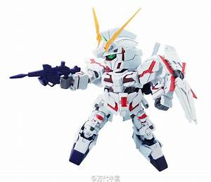 Unicorn Gundam Destroy Mode - SD Gundam EX Standard