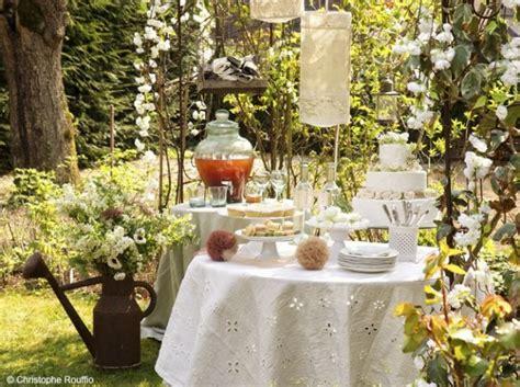 garden wedding design gourmande