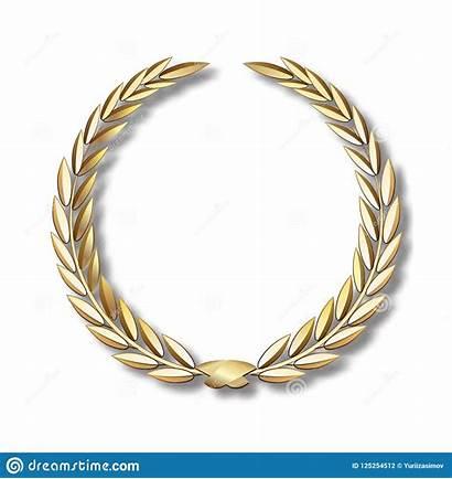 Gouden Lauwerkrans Lint Lorbeerkranz Goldenem Wreath Band