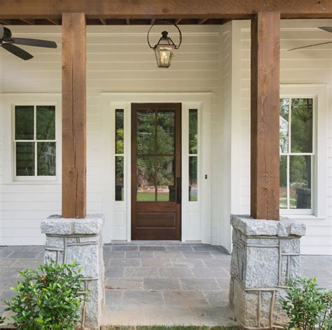 Rock Columns Porch by 5 Ways To Save Up To Renovate Your Home Home Bunch