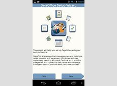 DejaOffice Classroom Android Getting Started