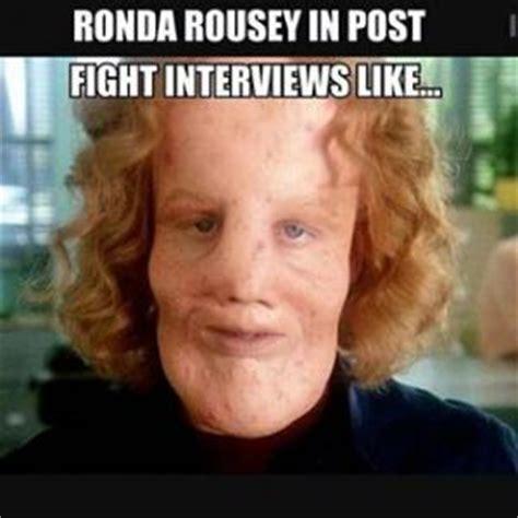 Ronda Rousey Memes - interview jokes kappit