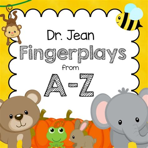 fingerplays from a z pre k pages 212 | fingerplays square 600