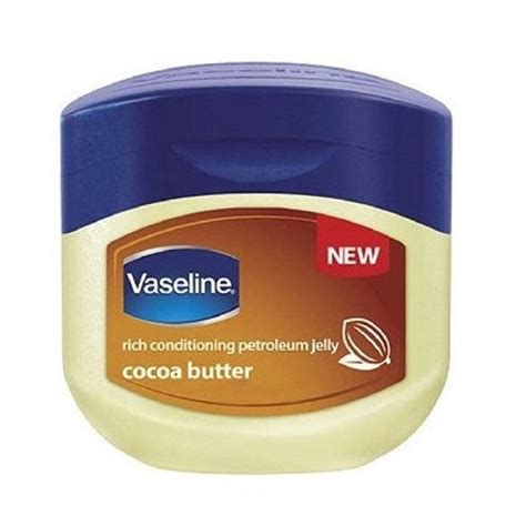vaseline rich conditioning petroleum jelly cocoa butter