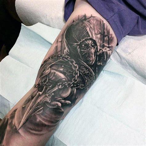 bicep tattoos  men masculine muscle design ideas