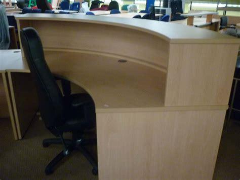 used reception desk used reception desks new used office furniture glasgow