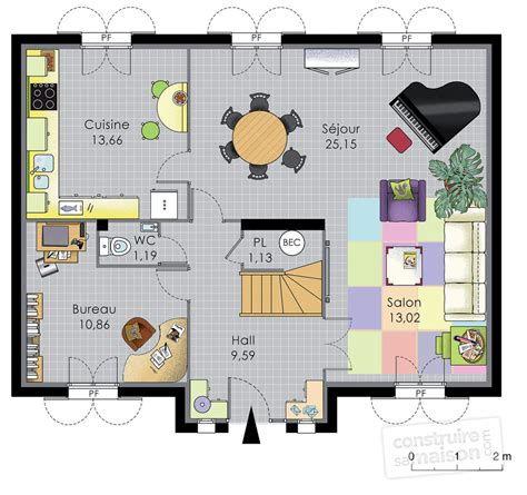 Plan Maison Familiale maison familiale 8 d 233 du plan de maison familiale 8