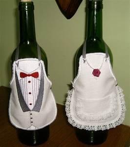 Customiser Une Bouteille De Vin : tabliers bouteille annie cr ation couture et linge de ~ Zukunftsfamilie.com Idées de Décoration