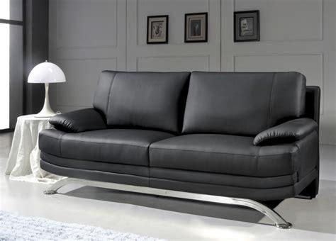 restaurer canapé cuir canape 3 places noir 28 images deco in canape 3 places