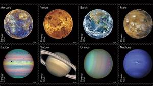 NASA Announces Gorgeous New Planet Space Stamps Including ...