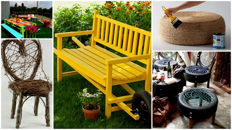 22 Creative Fun Diy Garden Furniture Projects You Will Adore