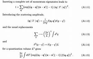 Delta Funktion Integral Berechnen : density operator dirac delta function property in a scattering proof physics stack exchange ~ Themetempest.com Abrechnung