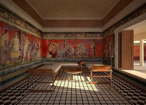 Reclining And Dining (and Drinking) In Ancient Rome The