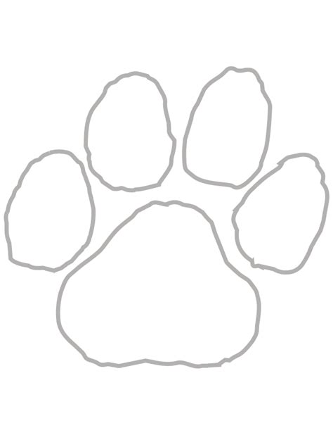 White Paw Print Temporary Tattoos - Ships in 24 Hours!
