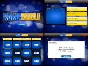game show powerpoint template  highest quality