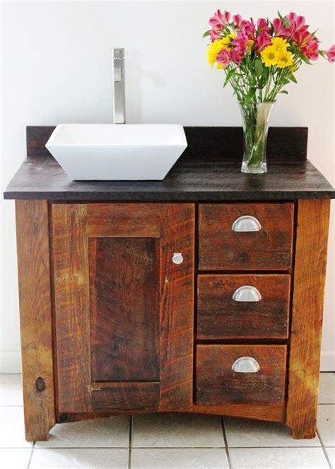 Modern Rustic Bathroom Accessories by Reclaimened Wood Vanity Handmade Bathroom Vanity