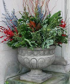 Garden Winter containers on Pinterest