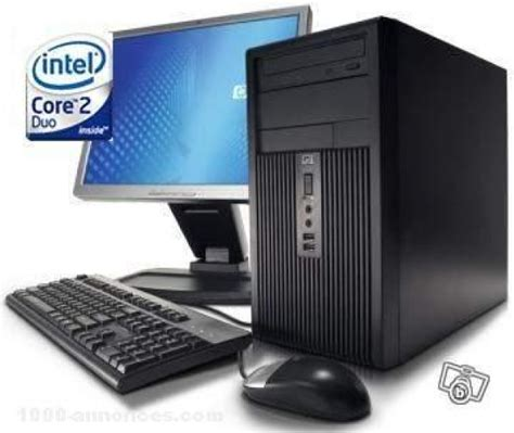 acheter pc de bureau achat ordinateur de bureau et pc portable hp sur