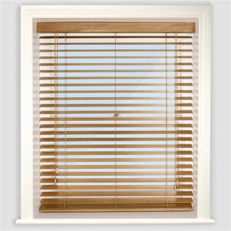 Wooden Blinds by Premier Medium Oak Wooden Venetian Blind