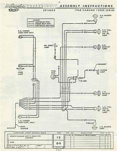 67 Camaro Tail Light Wiring Diagram