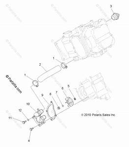Polaris Atv 2011 Oem Parts Diagram For Engine  Water Pump