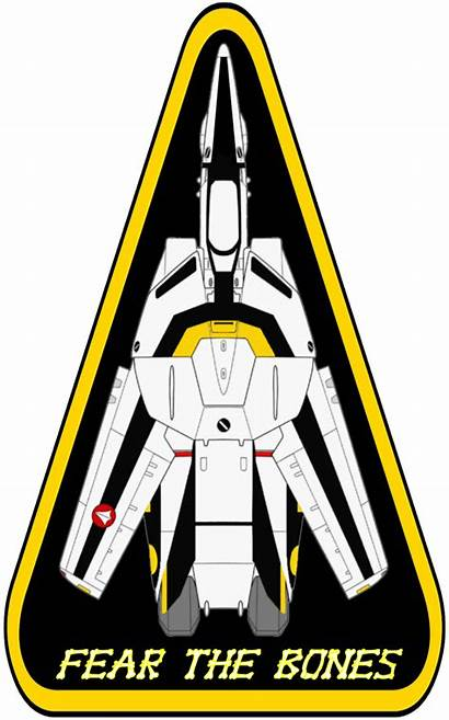 Robotech Skull Macross Squadron Triangle Viperaviator Valkyrie