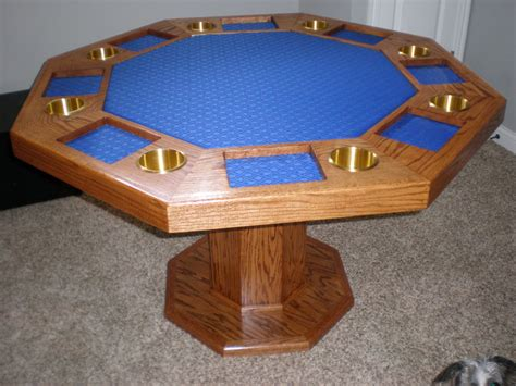 octagon game table plans octagon poker table poker table pizzazz legs for dining