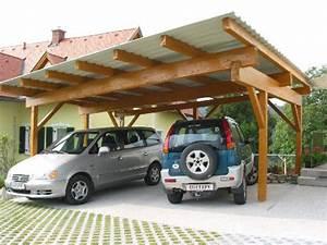 Carport Dach Decken : carport aus holz planen bauen montagebaus tze vom ~ Articles-book.com Haus und Dekorationen