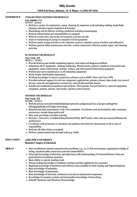 computer repair technician resume blaster review computer