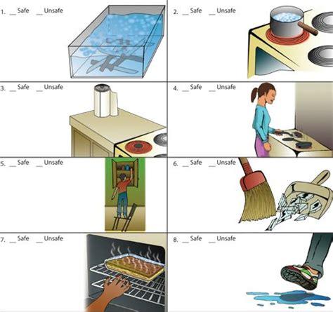 kitchen safety worksheet 1 time 10 mins 2