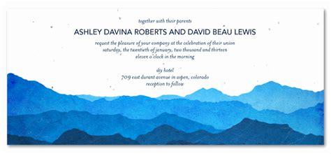 favorite colorado wedding invites