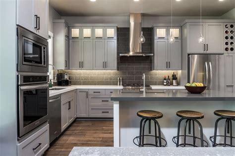 Kitchen Design Gray