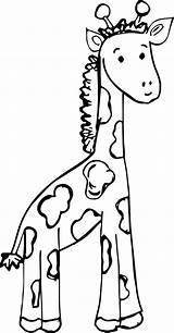 Giraffe Coloring Realistic Clipartmag Printable Pag Colorings Getcolorings sketch template