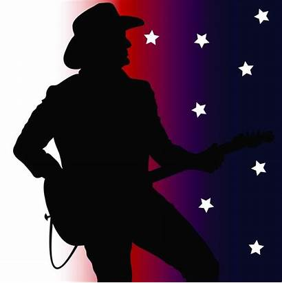 Country Clip Songs Silhouette Guitar Player Clipart