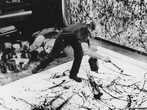 jackson pollock and true false ambition the urgent difference terrain