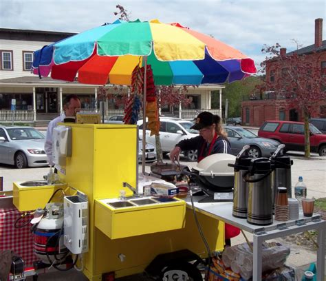 vendor info hot dog cart