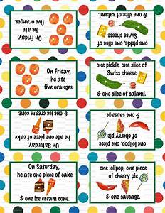Very Hungry Caterpillar Birthday Party 3 5x5 Tent Labels For Food Tables  Candy Buffet Folding