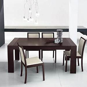 table contemporaine carree avec allonge With salle À manger contemporaine avec table À manger carrée avec rallonge